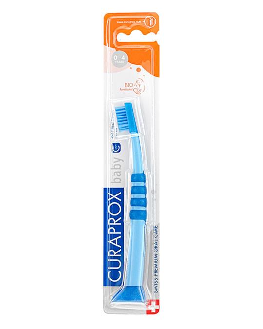 Baby Tandenborstel blauw-blauw